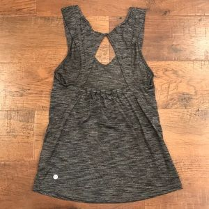 Lululemon charcoal grey tank sz 4